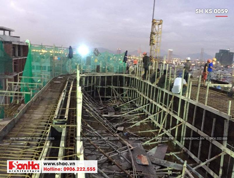 Khách sạn 3 sao tân cổ điển kết hợp căn hộ cho thuê tại Đà Nẵng – SH KS 0059 15