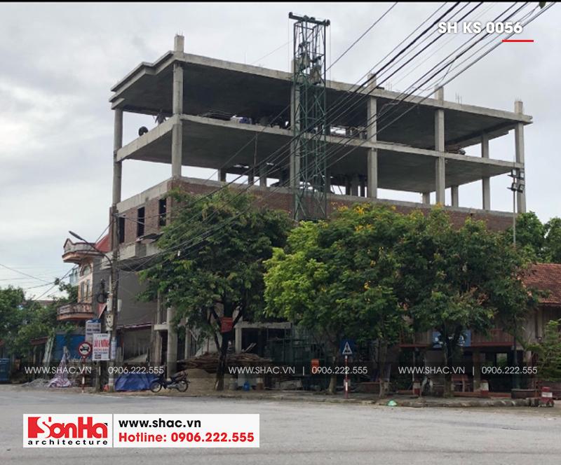 Thiết kế khách sạn 3 sao tân cổ điển tại Hải Phòng - SH KS 0056 13