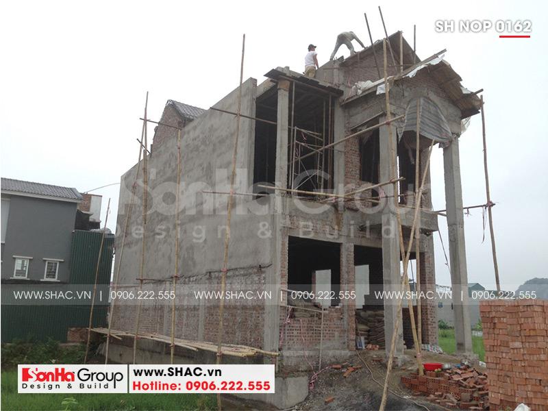 Mẫu nhà phố tân cổ điển kiểu Pháp 3 tầng diện tích 6mx20 tại Ninh Bình - SH NOP 0162 10
