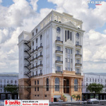 2 Kiến trúc khách sạn đẹp tân cổ điển tại vĩnh phúc sh ks 0057