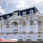 2 Mẫu kiến trúc biệt thự cổ điển đẹp tại cần thơ sh btp 0120