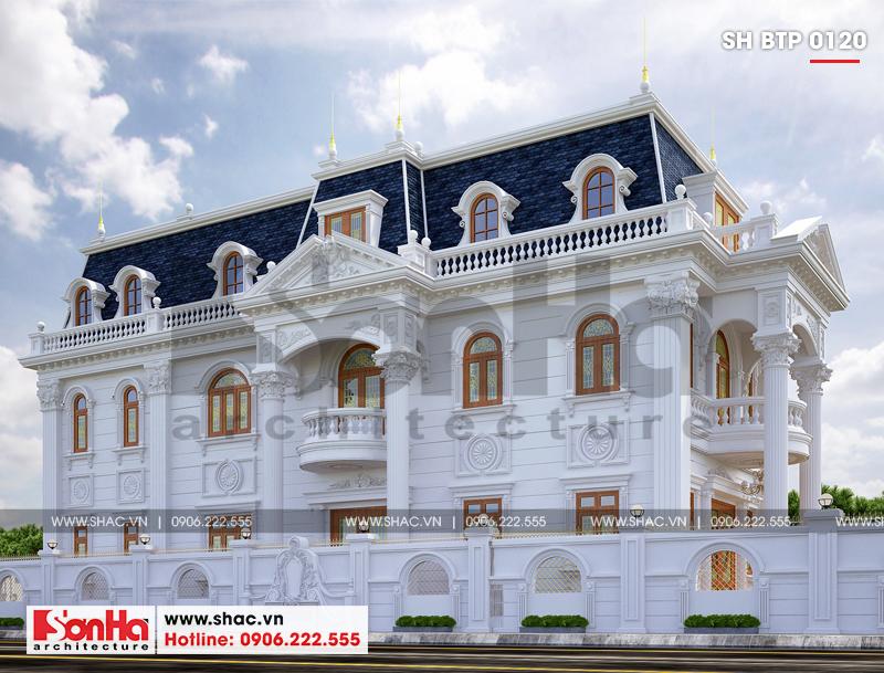 Lộ diện biệt thự cổ điển 3 tầng diện tích 10,3x28,6m tại Cần Thơ – SH BTP 0120 2
