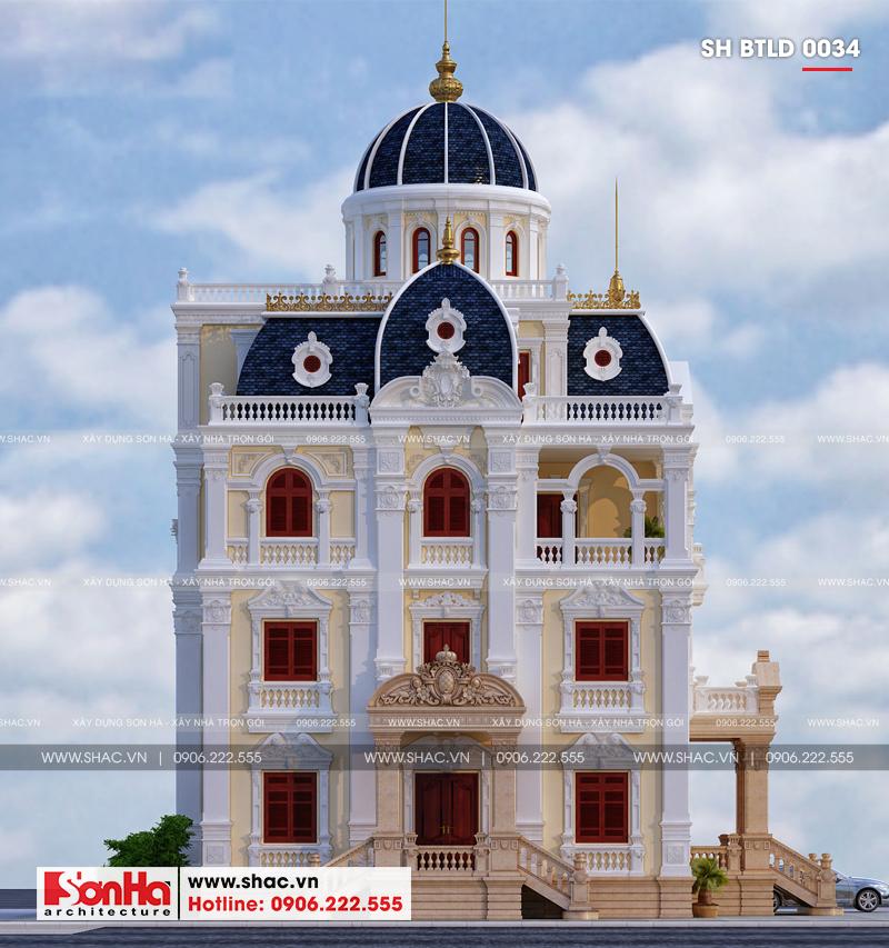 Xuất hiện biệt thự lâu đài 4 tầng đẹp nhất Việt Nam tại Hải Dương – SH BTLD 0034 2