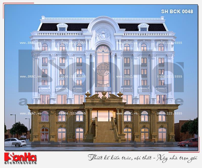 Thiết kế nhà hàng và khu dịch vụ tổng hợp tại Hải Phòng – SH BCK 0048 4