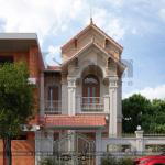 2 Mẫu kiến trúc nhà phố tân cổ điển tại ninh bình sh nop 0162