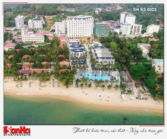 Toàn cảnh khu resort và khách sạn 5 sao tại Phú Quốc