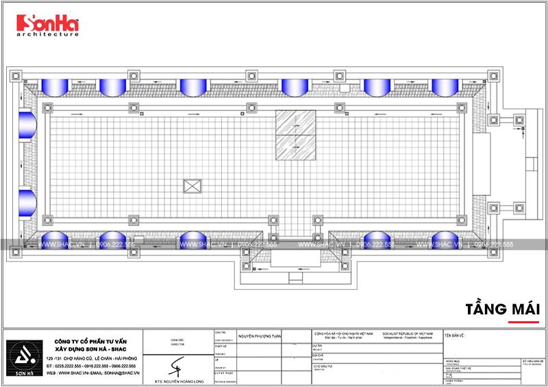 Lộ diện biệt thự cổ điển 3 tầng diện tích 10,3x28,6m tại Cần Thơ – SH BTP 0120 22