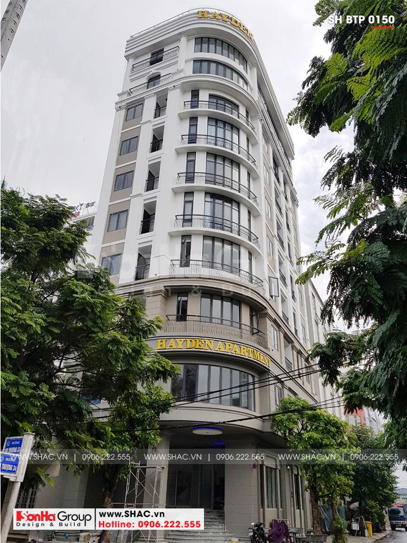 Khách sạn 3 sao tân cổ điển kết hợp căn hộ cho thuê tại Đà Nẵng – SH KS 0059 9