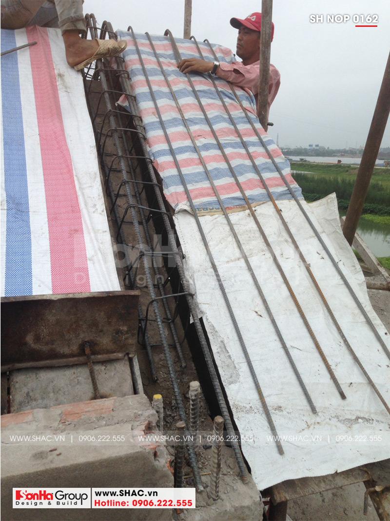 Mẫu nhà phố tân cổ điển kiểu Pháp 3 tầng diện tích 6mx20 tại Ninh Bình - SH NOP 0162 11