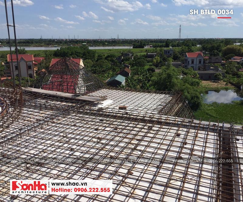 Xuất hiện biệt thự lâu đài 4 tầng đẹp nhất Việt Nam tại Hải Dương – SH BTLD 0034 26