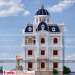 3 Thiết kế kiến trúc biệt thự lâu đài pháp tại hải dương sh btld 0034