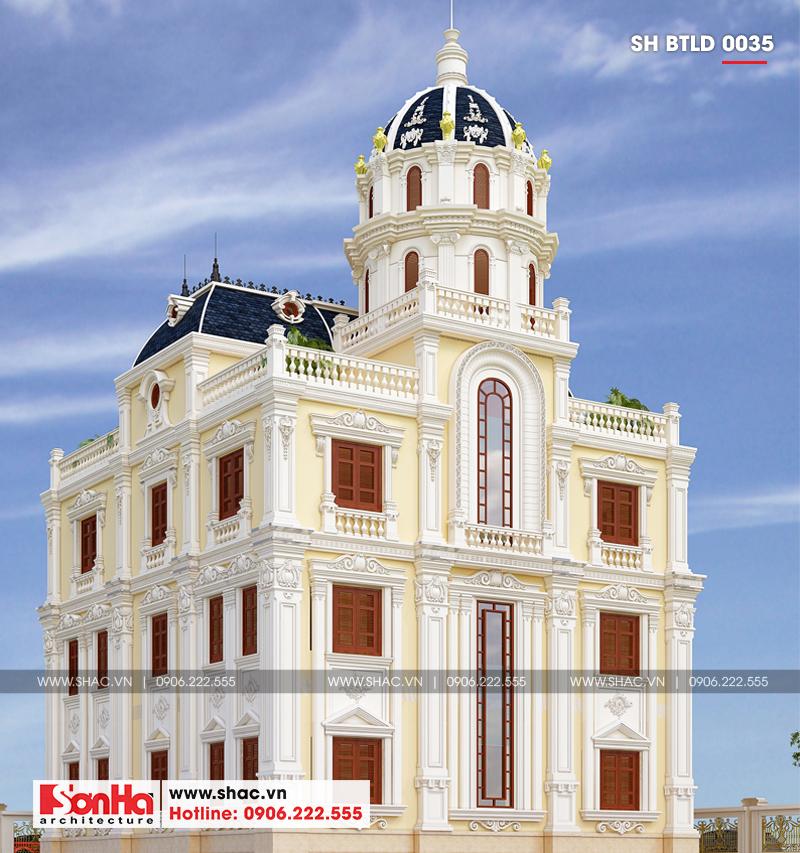 Không gian đáng sống của biệt thự lâu đài 3 tầng 239m2 tại Hải Phòng – SH BTLD 0035 3