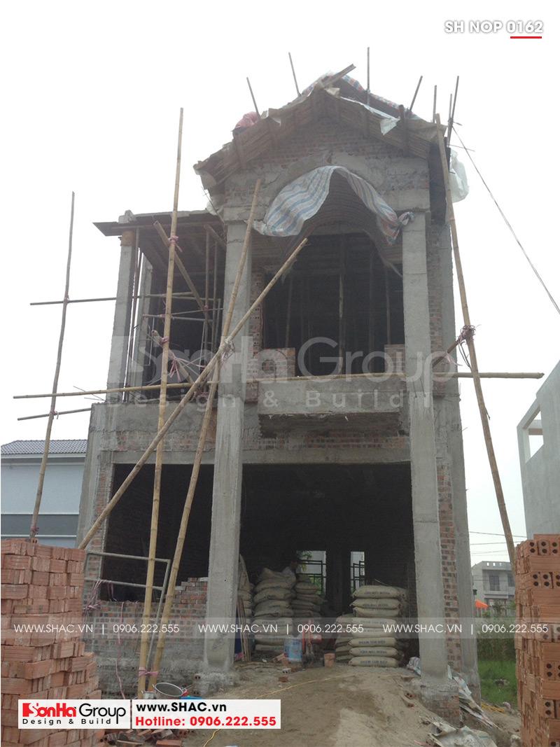 Mẫu nhà phố tân cổ điển kiểu Pháp 3 tầng diện tích 6mx20 tại Ninh Bình - SH NOP 0162 8