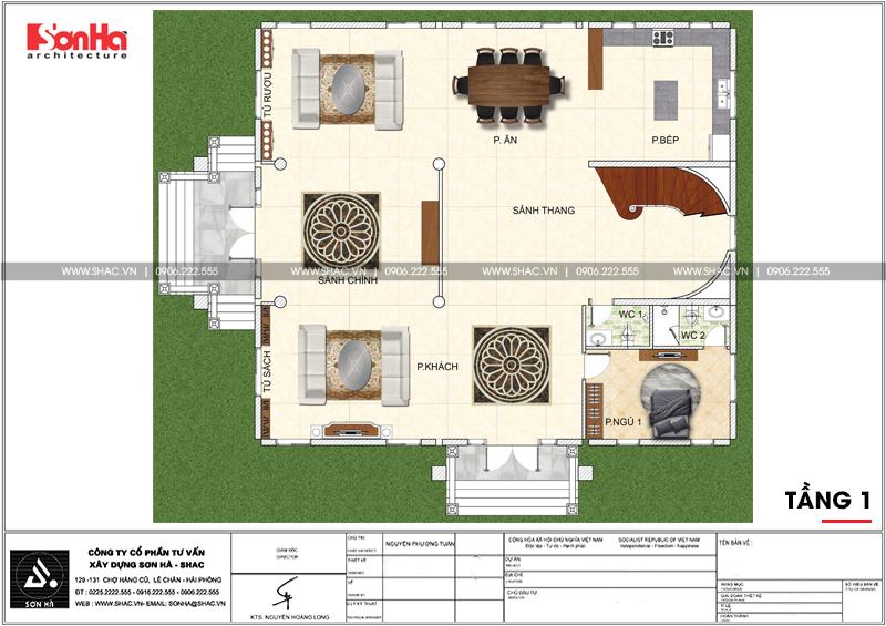 Không gian đáng sống của biệt thự lâu đài 3 tầng 239m2 tại Hải Phòng – SH BTLD 0035 4