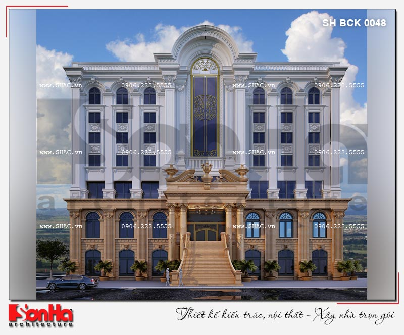 Thiết kế nhà hàng và khu dịch vụ tổng hợp tại Hải Phòng – SH BCK 0048 2