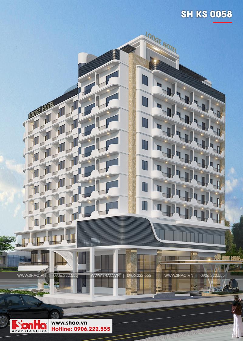 Thiết kế khách sạn hiện đại tiêu chuẩn 5 sao 1078,5m2 tại Phú Quốc - SH KS 0058 4