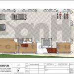 5 Mặt bằng công năng tầng 1 khách sạn 3 sao tại hải phòng sh ks 0056