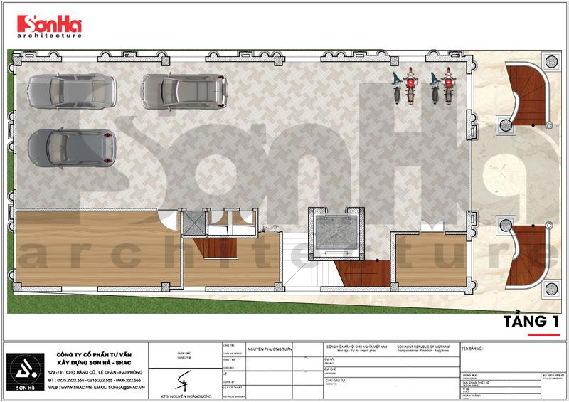 Thiết kế khách sạn 3 sao tân cổ điển tại Hải Phòng - SH KS 0056 7
