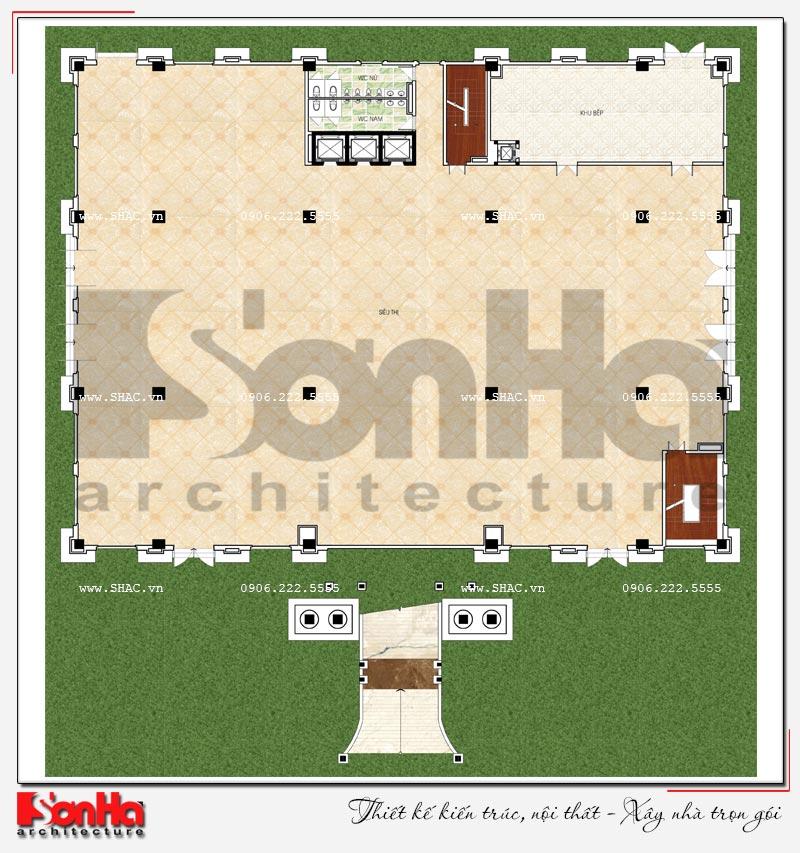 Thiết kế nhà hàng và khu dịch vụ tổng hợp tại Hải Phòng – SH BCK 0048 6