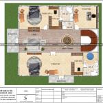 5 Mặt bằng công năng tầng 2 biệt thự lâu đài cổ điển tại hải phòng sh btld 0035
