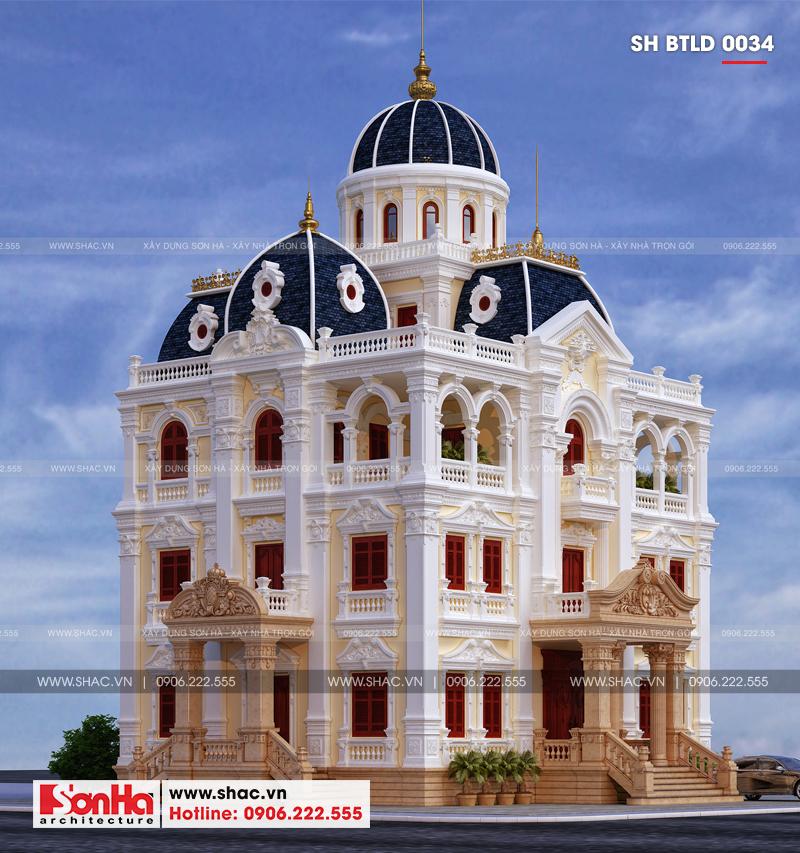Xuất hiện biệt thự lâu đài 4 tầng đẹp nhất Việt Nam tại Hải Dương – SH BTLD 0034 5