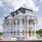 5 Thiết kế kiến trúc biệt thự pháp cổ điển tại cần thơ sh btp 0120