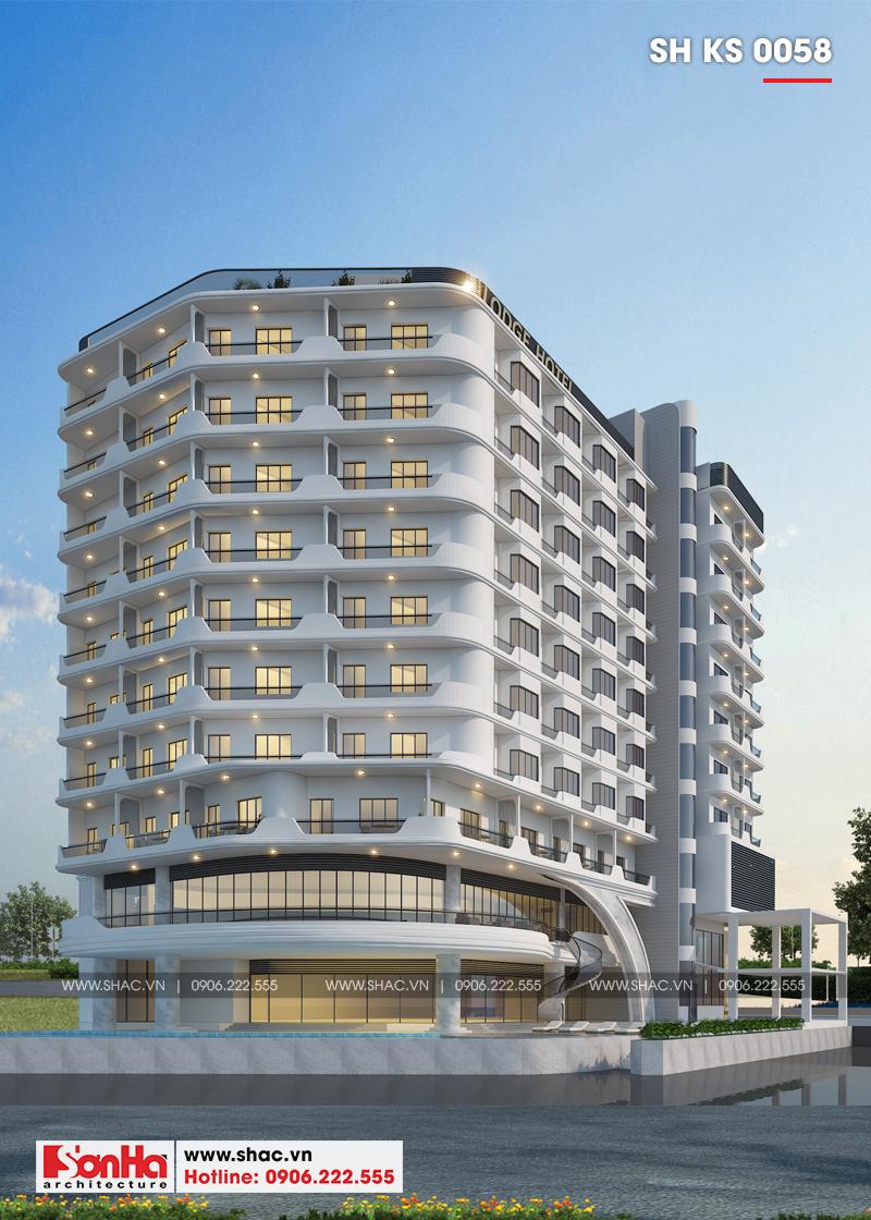 Thiết kế khách sạn hiện đại tiêu chuẩn 5 sao 1078,5m2 tại Phú Quốc - SH KS 0058 5
