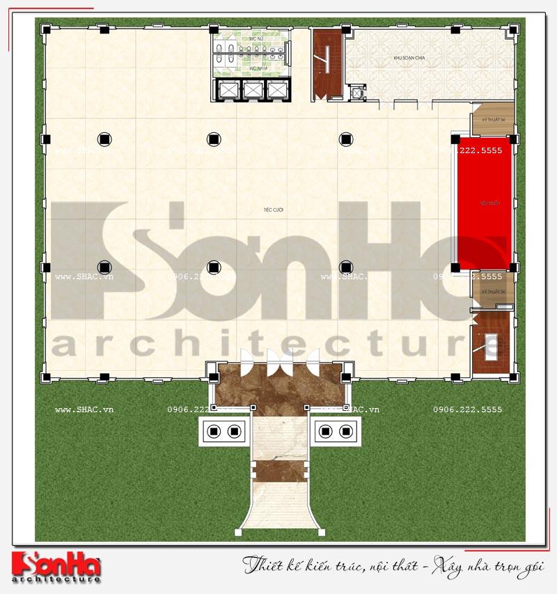 Thiết kế nhà hàng và khu dịch vụ tổng hợp tại Hải Phòng – SH BCK 0048 7
