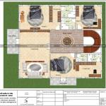 6 Mặt bằng công năng tầng 3 biệt thự lâu đài pháp tại hải phòng sh btld 0035
