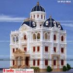 6 Mẫu kiến trúc biệt thự lâu đài pháp tại hải dương sh btld 0034