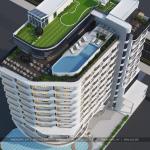 6 Mẫu kiến trúc phương án 2 khách sạn hiện đại 5 sao tại phú quốc sh ks 0057