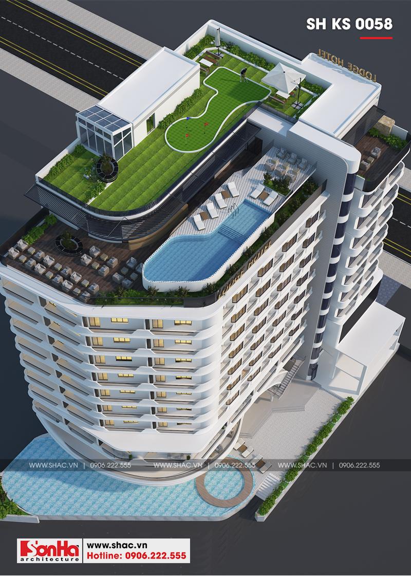 Thiết kế khách sạn hiện đại tiêu chuẩn 5 sao 1078,5m2 tại Phú Quốc - SH KS 0058 6