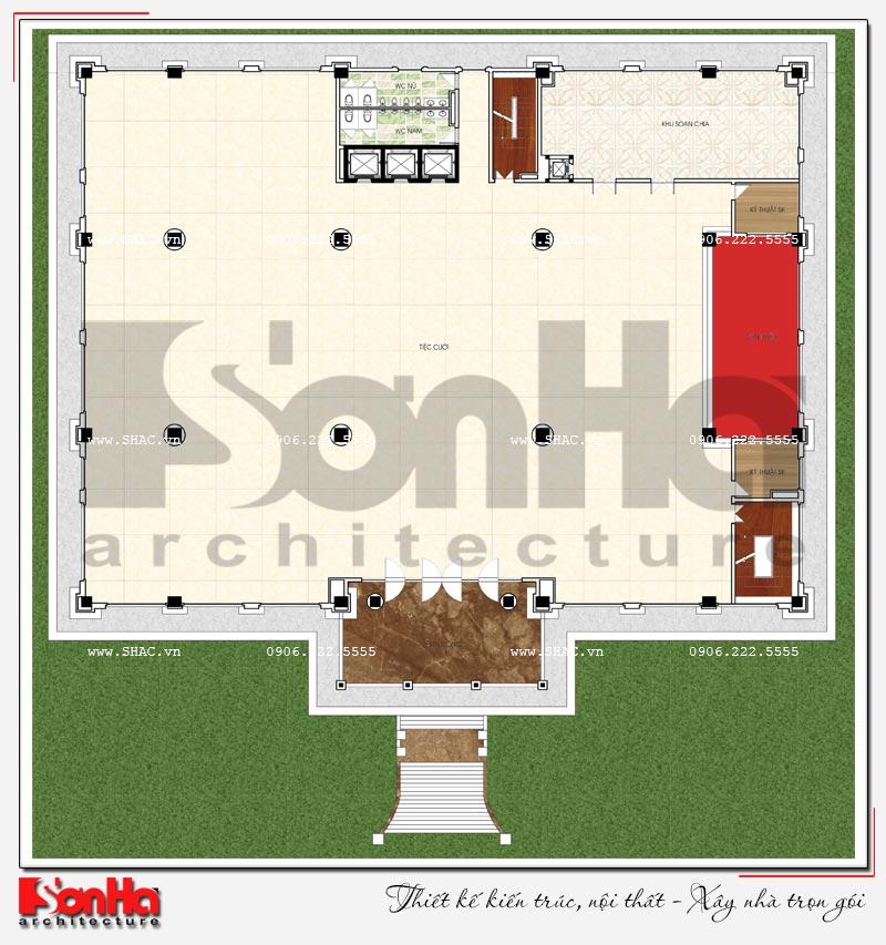 Thiết kế nhà hàng và khu dịch vụ tổng hợp tại Hải Phòng – SH BCK 0048 8