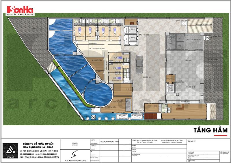 Thiết kế khách sạn hiện đại tiêu chuẩn 5 sao 1078,5m2 tại Phú Quốc - SH KS 0058 7