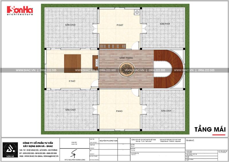 Không gian đáng sống của biệt thự lâu đài 3 tầng 239m2 tại Hải Phòng – SH BTLD 0035 7