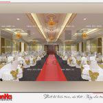 7 Thiết kế nội thất hội trường tầng 2 trung tâm thương mại và dịch vụ tại sài gòn
