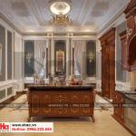 7 Thiết kế nội thất phòng bếp biệt thự pháp đẹp tại cần thơ sh btp 0120