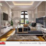 7 Thiết kế nội thất phòng ngủ 2 biệt thự tân cổ điển khu đô thị vinhomes imperia hải phòng
