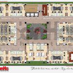 8 Mặt bằng công năng tầng 4 nhà hàng kiến trúc tân cổ điển tại hải phòng sh bck 0048