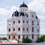 8 Mẫu kiến trúc biệt thự lâu đài pháp tại hải dương sh btld 0034