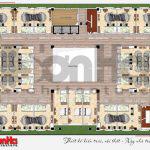 9 Mặt bằng công năng tầng 5 nhà hàng kiến trúc tân cổ điển tại hải phòng sh bck 0048