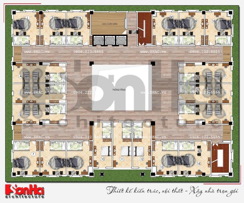 Thiết kế nhà hàng và khu dịch vụ tổng hợp tại Hải Phòng – SH BCK 0048 10