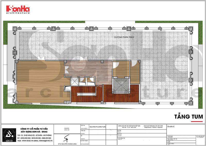 Thiết kế khách sạn 3 sao tân cổ điển tại Hải Phòng - SH KS 0056 11