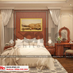9 Thiết kế nội thất phòng ngủ 1 biệt thự pháp đẹp tại cần thơ sh btp 0120