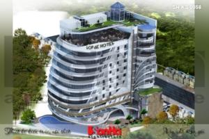 BÌA thiết kế khách sạn hiện đại 5 sao tại phú quốc sh ks 0058