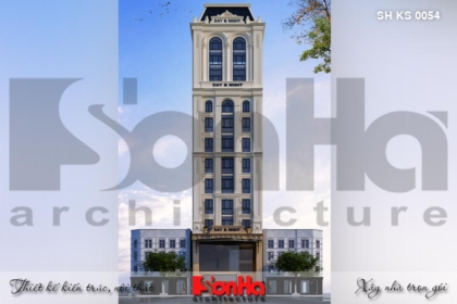 BÌA thiết kế kiến trúc khách sạn 3 sao tại hải phòng ks 0054