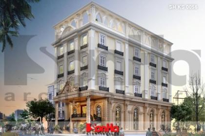 BÌA thiết kế kiến trúc khách sạn 3 sao tại hải  phòng sh ks 0056