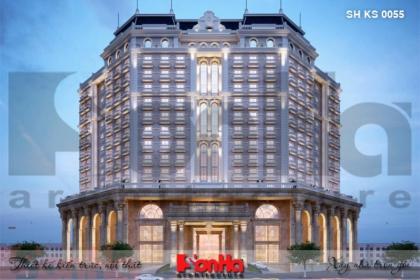 BÌA thiết kế kiến trúc khách sạn 5 sao tại hạ long sh ks 0055