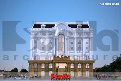 BÌA thiết kế nhà hàng kiến trúc tân cổ điển tại hải phòng sh bck 0048