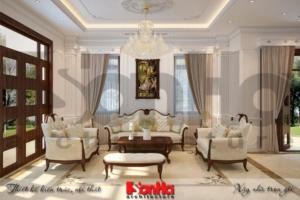 BÌA thiết kế nội thất biệt thự tân cổ điển khu đô thị vinhomes hải phòng